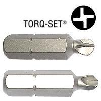 Torq-Set(R) Screwdriver Bits